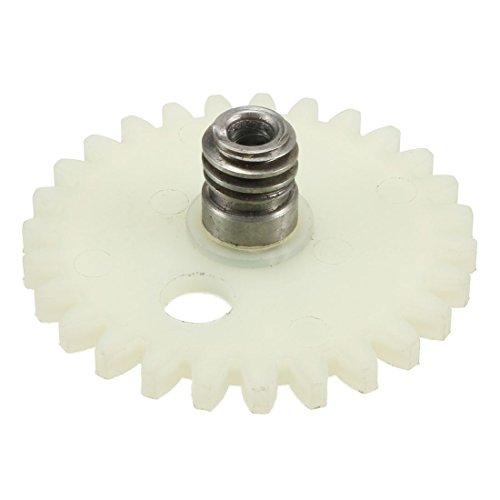 sourcing map 58mm diametro nuova pompa olio ingranaggio vite senza fine ruota cilindrici per STIHL 381 Motosega