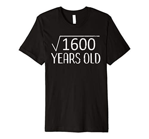 SaveMoneyes 40th Birthday Square Root Funny