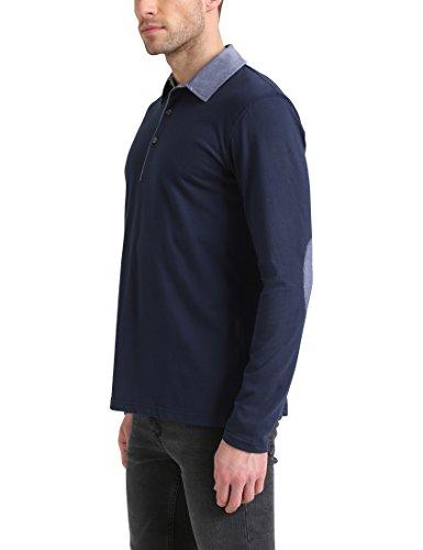 James Tyler Herren Poloshirt Jt177 Blau (Blau Blau)