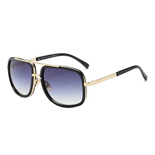 Fish unisex metallo telaio occhiali da sole doppio metallo ponte occhiali da sole uv400 protezione degli adulti eyewear uomo donna occhiali outdoor