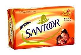 Santoor Sandal & Turmeric Soap, 100g - Pack of 168 (42Pens Free)