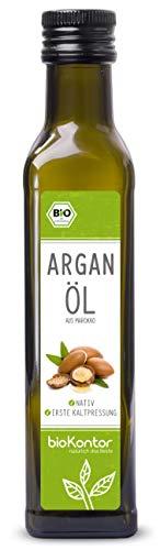 Arganöl Bio - nativ, kaltgepresst, 100% rein von bioKontor (250ml)