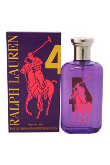 RALPH LAUREN Big Pony 4 lila Wom EDT Vapo 100 ml