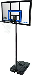 Spalding Basketballanlage NBA Highlight Acrylic Portable, transparent,...