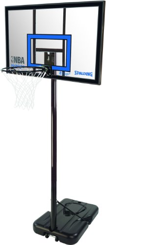 Spalding NBA Highlight Acrylic Canasta Portable, Unisex Adulto, Transparente, 42