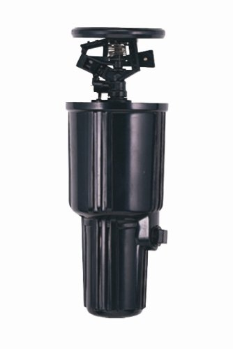 Impact Sprinkler (Orbit 55100super-jet Zoll-Pop-Up Impact Kanister Sprinkler Spray Kopf mit 40-foot Deckung)