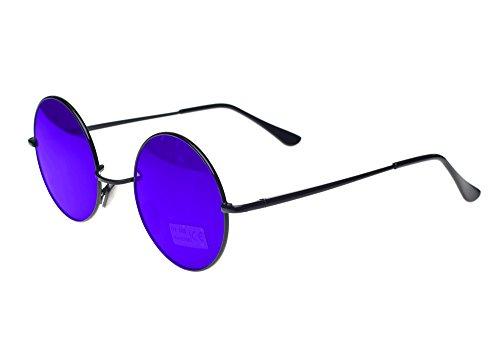 Gafas de sol redondas estilo John Lennon