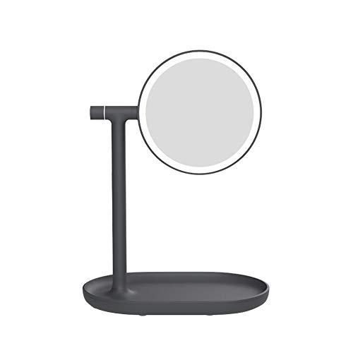 Jian E-& Espejo abatible luz Espejo Doble Cara Relleno