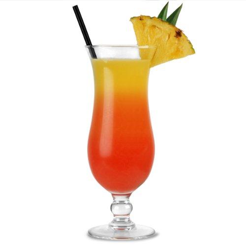 Arcoroc 54584 Elegance Hurricane Cocktailglas, 440 ml, 6 Stück