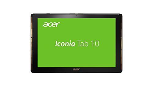 Acer Iconia Tab 10 (A3-A40) 25,7 cm (10,1 Zoll) Full HD Tablet-PC (Arm Cortex-A53 Quad-Core, 2 GB RAM, 64 GB eMMC, Android 6.0 Marshmallow) Schwarz
