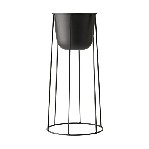 Rig Tig by Stelton Wire Pot Blumentopf ø 23 cm, h 60 cm - schwarz