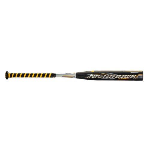 Mizuno Nighthawk Batte de baseball (-13), Homme, Noir/doré