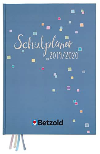 Betzold 757469 - Design-Schulplaner 2019/2020 Hardcover DIN A4 plus - Lehrerkalender Jahresplaner Lehrer-Planer Organisation