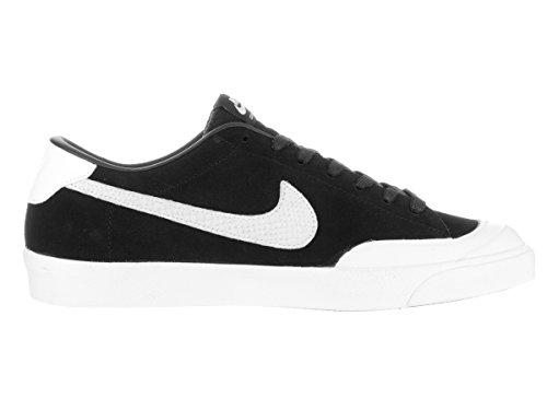 Nike Zoom All Court Ck Qs, Scarpe da Skateboard Uomo Nero / Bianco (nero / bianco)