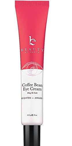 Augencreme mit natürlichen Ingredienzen in Bio Qualität gegen dunkle Augenringe, Schwellungen, Geschwollene Tränensäcke, Falten; Strafft das Gewebe mit Koffein aus der Kaffeebohne; Anti-Aging