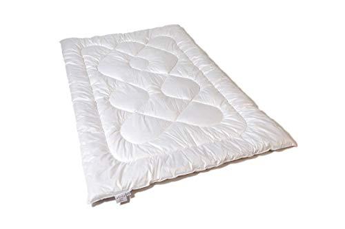 Bettdecke allergiker 135x200 mit reine Schurwolle, Bettdecke ohne Schwitzen, Gesundheitsprodukt