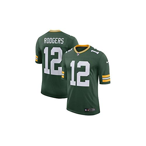 Nike GBP M NK Lmtd JSY Team CL Shirt Green Bay Packers, Herren M grün / (fir/Rodgers Aaron) - Fir Green