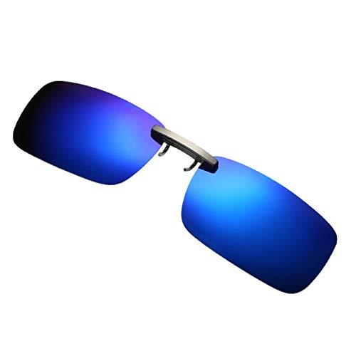 Barlingrock Sonnenbrille Abnehmbares Nachtsichtobjektiv Driving Metal Polarized Clip On Glasses Sonnenbrille Radfahren Laufen Fahren Sport Sonnenbrille Sonnenbrille Abnehmbarer Clip