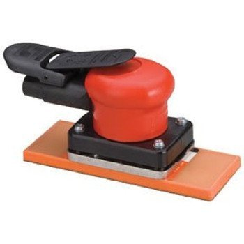 Dynabrade Dynabug II Non-Vacuum Air Orbital Sander with 2-3/4 in. 6-7/8 in. PSA Sanding Pad 10281 by Dynabrade
