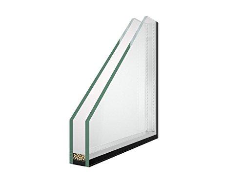 500 x 500 mm Winkhaus Beschlag Isolierglas DIN Rechts Kellerfenster Kunststoff Fenster Dreh Kipp 50 x 50 cm