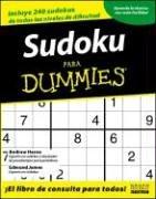 Sudoku Para Dummies/sodoku For Dummies