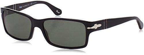 Persol Herren Sonnenbrille  PO2803, Gr. One Size, Schwarz