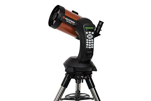 "Celestron NexStar 5 SE - Telescopio computarizado de 5"", negro y naranja"