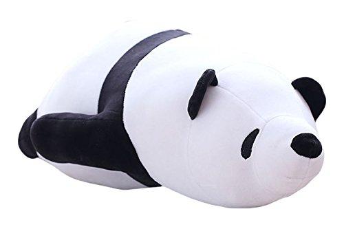 Good Night Schöne Cartoon Panda gefüllte Bett Kissen Nackenrolle für Kid Boy und Mädchen, 40cm