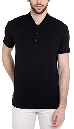 8. Dream of Glory Inc. Men's Cotton Henley T-Shirt