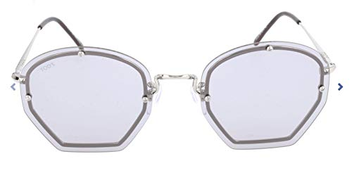 Tod's Damen Tod'S To0134 Sonnenbrille, Mehrfarbig, 53