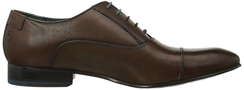 Ted Baker - Danyll Scarpe Stringate Basse Oxford Uomo Marrone brown