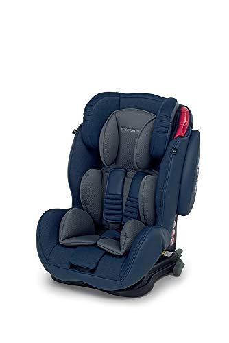 Foppapedretti Isodinamyk Seggiolino Auto, Blu Jeans,  Gruppo 1/2/3 (9-36kg), per Bambini da 9 Mesi fino a 12 Anni