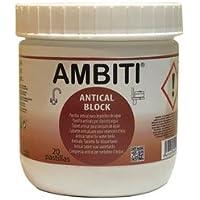 AMBITI Pastillas antical 20x16 grms, eliminan la cal de las sondas de nivel de los depósitos.