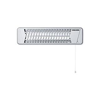 Stiebel Eltron 229339 Quartz Radiant Heater, 1200 W, Silver