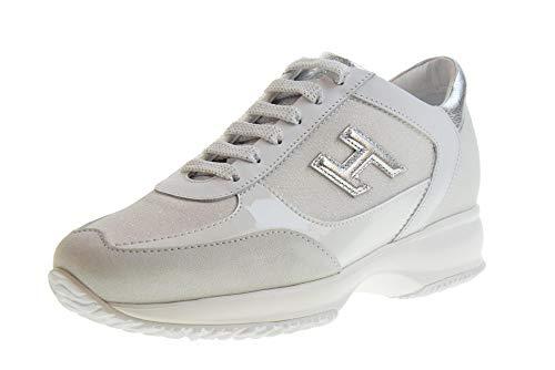 Hogan Scarpe Donna Sneakers Basse HXW00N0BH50KL70351 Interactive H3D Taglia 38 Bianco