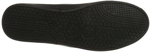 Bugatti - 422291605050, Pantofole Donna Schwarz (Black / Metallic)
