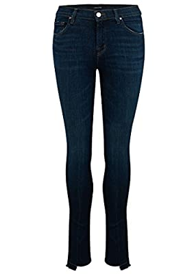 J Brand - 811 Mid Rise Stepped Hem Jean - Disguise