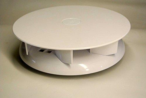klein niedriges Profil drehbar Dach-Entlüftung für Vans Busse - weiß - Dachlüfter rotierende Ventilator