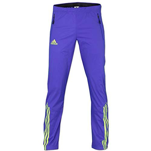adidas Herren Athleten Softshell Pant Outdoor Hose Night Flash (Night Flash-solar Yellow, 48 (M) D5)