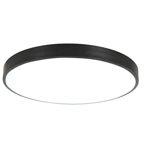 led ceiling light simple modern ultra-thin corridor aisle living room round balcony dining room 18W 30cm non-polar light band remote control