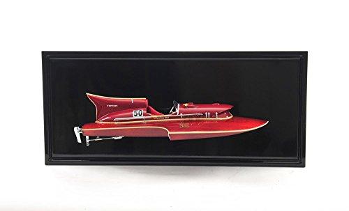 Old modernes Kunsthandwerk H068Ferrari Wasserflugzeug Hälfte Hull