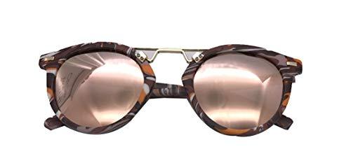 Hemio Runde Farbfilm Sonnenbrillen Mode Autofahren Sonnenbrille Metallrahmens Brille Vintage Sonnenbrille Mädchen Outdoor-Brille Harz Unisex Neu Jungen