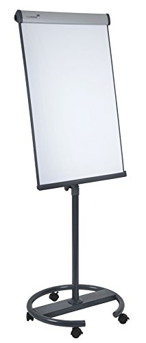 Legamaster 7-153600 Universal Flipchart Triangle Rundfuß, silber