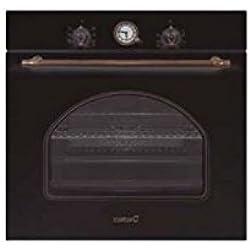 CATA MRA 7108 BK - Horno (Medio, Horno eléctrico, 60 L, 60 L, 50-250 °C, Negro)