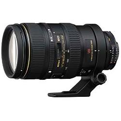 Nikon AF VR Zoom-NIKKOR 80-400mm f/4.5-5.6D Ed Noir - Lentilles et filtres d'appareil Photo (17/11, 2,3 m, Auto/Manuel, 80-400 mm, 30,10°, HB-24 CL-M1 LC-77 LF-1)