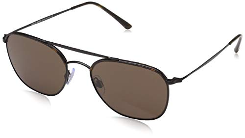 Armani Herren 0AR6058J 300173 54 Sonnenbrille, Havana/Matte Black/Brown