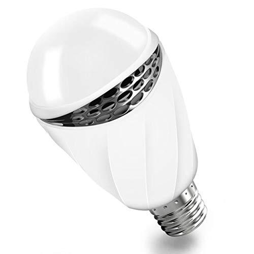 Lorenlli Luz Control Sonido 3W E27 Bombilla luz Activada
