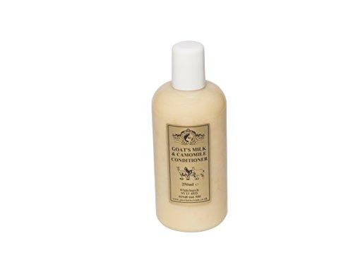 Kamille Conditioner (Ziegenmilch und Kamille Conditioner 250ml von Eleganz natürlicher Haut Pflege für Schuppenflechte Ekzemen trockene Haut Dermatitis Rosazea)