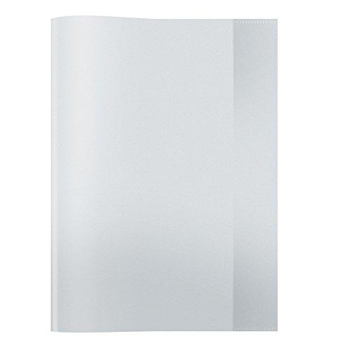 Preisvergleich Produktbild Herma 7490 Heftumschlag DIN A4, Kunststoff, transparent farblos, 1 Heftschoner für Schulhefte