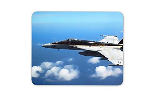 F18 Kampfflugzeug Mauspad Pad - Super Hornet Jet-Flugzeug-Geschenk-Computer # 13083 (F18 Flugzeug)